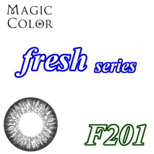 MAGICCOLOR (マジックカラー) fresh F201 度なし 14.0mm 1ヵ月使用 2枚入り
