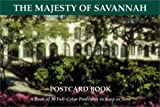 The Majesty of Savannah (GA): Postcard Book