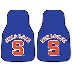 Fanmats Syracuse Orangemen Carpeted Car Mats by Fanmats