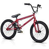BLANK Hustla 2015 BMX Bike Gloss Red 18in Wheel 18.5in Top Tube