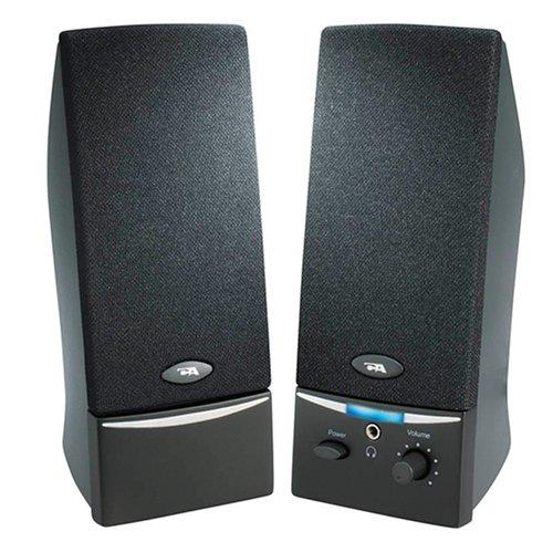 Cyber Acoustics 4 Watt 2.0 Computer Speaker System – Black (CA-2014)