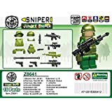 Jungle Sniper Minifigure Gear Pack, Dark Green