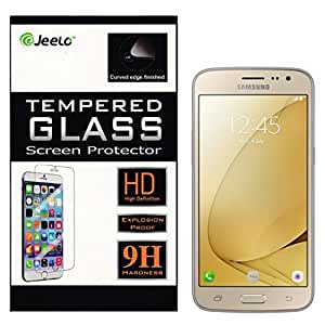 Jeelo 2.5D Curved Premium Tempered Glass Screen Protector for Samsung Galaxy J2 Pro 2016