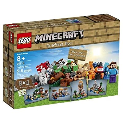 Lego Minecraft 21116 Crafting Box by LEGO Minecraft