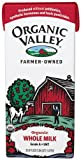 Organic Valley Organic Whole Milk, 33.8 Ounce Asceptic Carton (Pack of 12)
