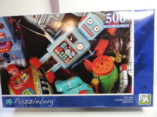 Puzzlebug Toy Box 500 Piece Jigsaw Puzzle