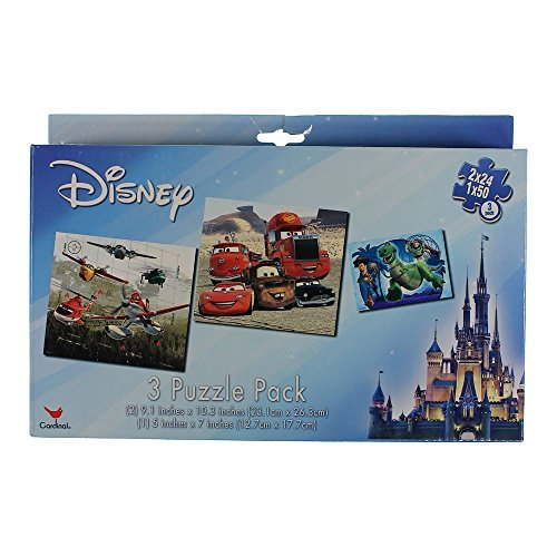 Disney Pixar 3 Puzzle Pack Cars / Planes / Toy Story
