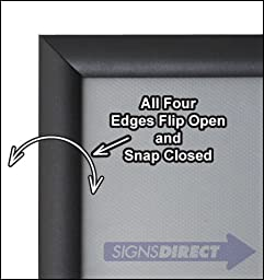 Snap Open Quick Change Sign Frame - 8.5\