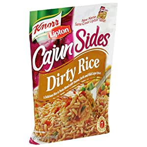 Knorr/Lipton Cajun Sides, Dirty Rice, 5.7-Ounce Packages (Pack of 12)
