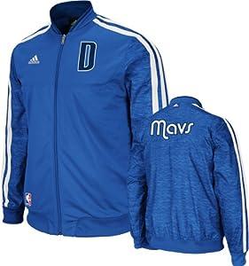 NBA Dallas Mavericks On-Court Warm-Up Jacket Home Weekday by adidas