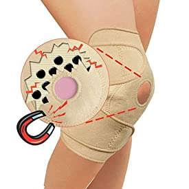 Flexi Magnetic Instant Comfort Infrared Therapy Ultra Knee Brace (Dark Brown)