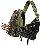GamePlan Gear XBolt Quiver Pack with TruGlo 4-Arrow Quiver, Realtree AP