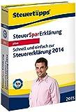 Software - Steuer-Spar-Erkl�rung 2015 Plus (f�r Steuerjahr 2014)