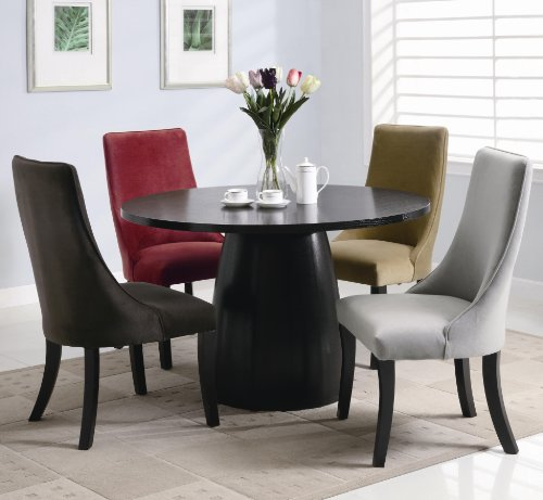 Buy Low Price Coaster Furniture Amhurst 5-Pc Dining Table Set by Coaster (101590-101592-5SET)
