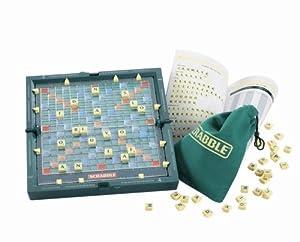 Mattel 53639 - SCRABBLE Pocket, Brettspiel, English