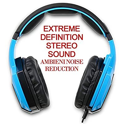 Gaming Headset for PS4 PS2 PS3 Xbox One Xbox 360 PC Mac Laptop