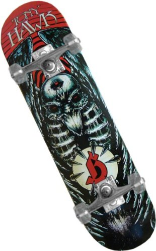"Tony Hawk Birdhouse ""Godmachine"" Complete Skateboard (Silver Trucks / Clear Wheels) #43"