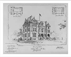 ... of U.S. Court House and Post Office, Abingdon, Va.: Posters & Prints