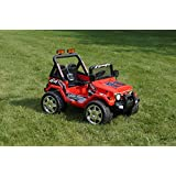 Ride On Ecar. Jeep Wrangler Style Battery Operated Ride On Toy Car For Kids With Remote Control - B01AH13ZHG