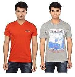 Strak Cotton Men's Casual T-Shirt (STR2054_L)