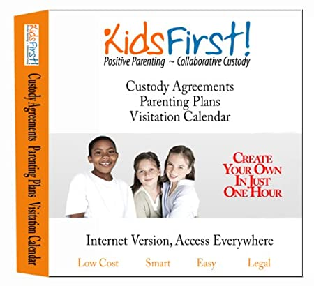 KidsFirst! Web-based Custody Agreement - Parenting Plan Software with Visitation Calendar