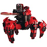 Combat Creatures Attacknid MK1 Battling Spider Toy Robot with Remote Control, Ultra Controllable Disc-Firing Weapon System, 6-Legged Robotics with Advanced All-Terrain Handling Control, Ultra Controllable Disc-Firing Weapon System
