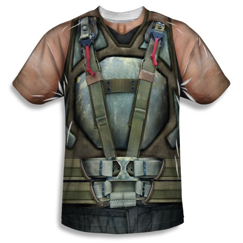 Dark Knight Trilogy - Men's T-shirt Bane costume design