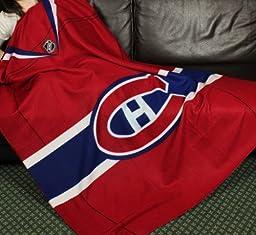 Montreal Canadiens NHL Fleece Throw Blanket by Northwest