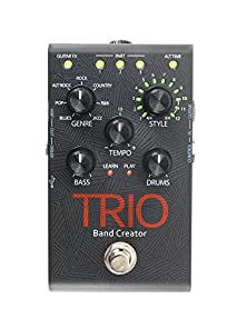 buy Digitech Trio Electric Guitar Multi Effect, Band Creator Pedal, Power Supply Included