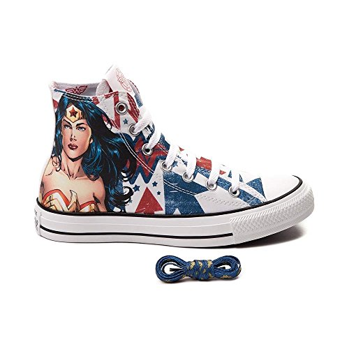 Converse Chuck Taylor Men's Sneaker DC Comics Wonder Woman (Men's 11)
