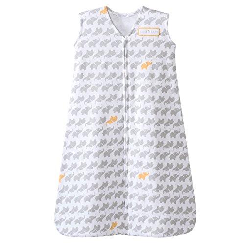 HALO SleepSack Wearable Blanket 100% Cotton (Elephant) - Large