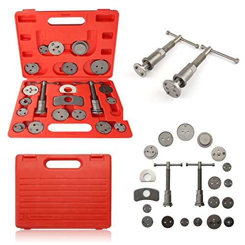 MultiWare Universal Brake Caliper Piston Rewind Tool Set 22pcs