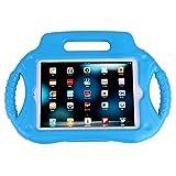 HDE iPad Mini Case Kids Shock Proof Steering Wheel Cover with Stand for Apple iPad Mini / Mini 2 / Mini 3 / Retina (Blue)