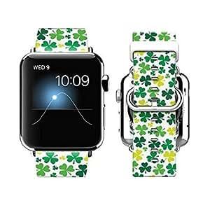 Kess InHouse Laura Escalante 38 mm Strap for Apple Watch - Non-Retail Packaging - Midnight Florals/Black Sunflower