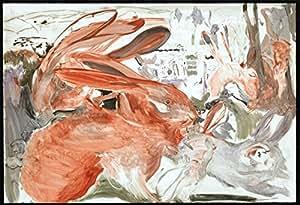 Amazon.com: Cecily Brown, titulo:Conejos, LITHOGRAPHY OF MODERN