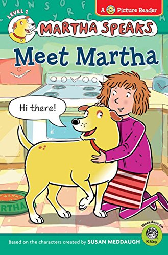 Meet Martha [With 12 Punch-Out Story Cards] (Martha Speaks Readers)
