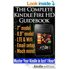 The Complete Kindle Fire HD Guidebook