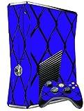 XBOX 360 SLIM SKIN – MMA CAGE BLUE