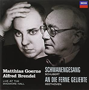 Schubert : Le Chant du Cygne - Beethoven : An die ferne Geliebte