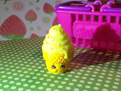 Shopkins Season 2 #2-058 Yellow Ice-Cream Dream