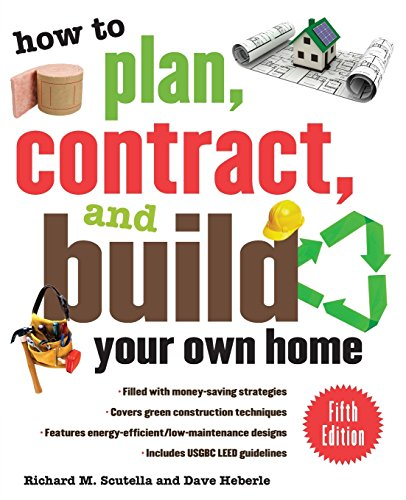 How to plan contract and build your own home fifth for Contracting your own home
