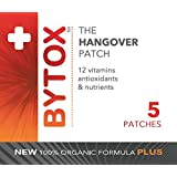 Bytox Hangover Remedy Multivitamin Nutrient Patch 5 Pack