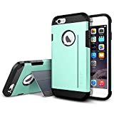 iPhone 6 Case, Spigen [STAND FEATURE] Tough Armor S Case for iPhone 6 (4.7-Inch) - Mint (SGP11042)