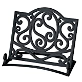 Premier Housewares Cast Iron Cookbook Stand, Blackby Premier Housewares