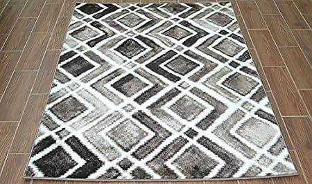 tapis de couloir pas cher moderne beige blanc platin 3146 16n73. Black Bedroom Furniture Sets. Home Design Ideas