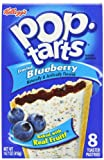 Pop-Tarts, Frosted Blueberry, 8-Count Tarts (Pack of 12)