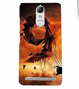 PRINTSOPPII NUMARIC Back Case Cover for Lenovo K5 NOTE::Lenovo Vibe K5 Note Pro