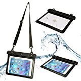 32nd® Waterproof bag pouch case cover for Apple iPad Mini 1 2 3 - Black