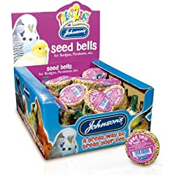 Johnsons Seed Bell for Budgies