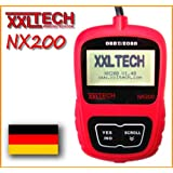 "XXLTECH NX200 CAN BUS Diagnose Scanner + LIFE DATEN deutsch OBD 2 OBD2von ""XXLTECH"""